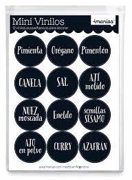 Resultado de imagen para etiquetas de condimentos para imprimir