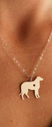 You love your Labrador Retriever. Show it with this beautiful necklace. Available in gold or silver. Includes 18 inch zinc alloy chain. Buy this necklace now at this low introductory price!
