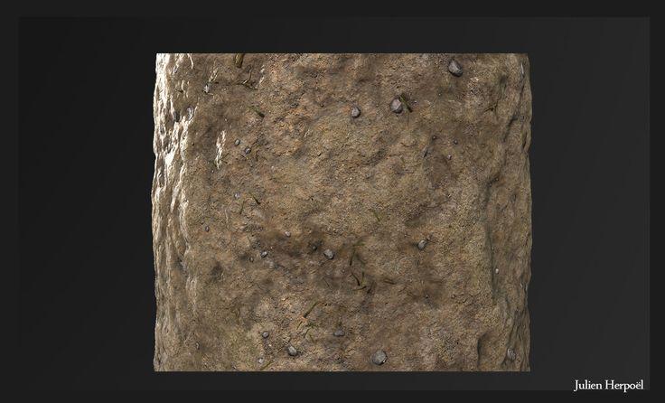ArtStation - Ground Texture Zbrush, Julien Herpoël