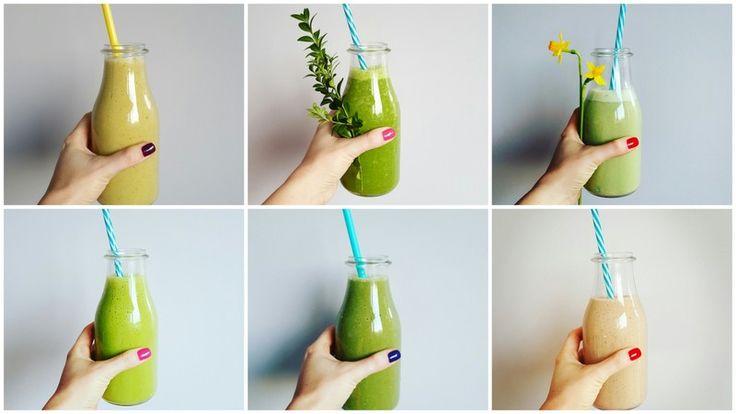 Przewodnik po zielonych koktajlach czyli co z czym najlepiej smakuje. Lista owoców, warzyw i dodatków, które stworzą smaczne i zdrowe zielone koktajle