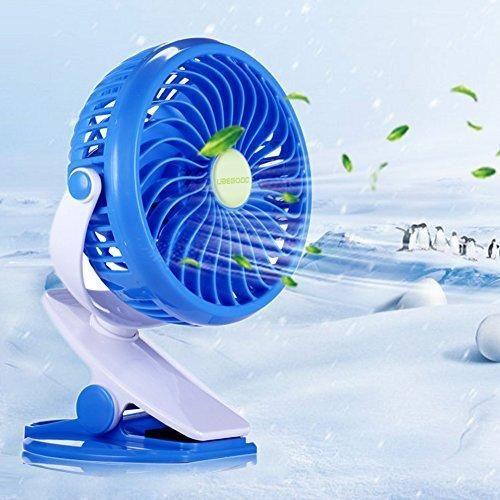 Oferta: 15.88€ Dto: -39%. Comprar Ofertas de Ventilador Clip,Ubegood Mini USB Ventilador Portátil y Silencioso Ventilador de Mesa 360 Grados de Rotación Ventilador (Azul) barato. ¡Mira las ofertas!
