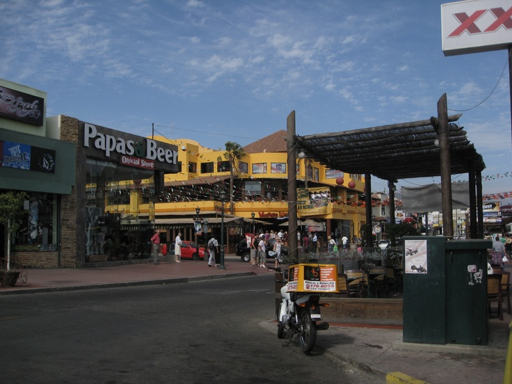 The only place to party in Ensanada, Mexico - Mango Mango and Papa's and Beers