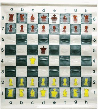 WE Games Standard Chess Teaching Demonstration Board  27 inches Pieces Included >>> Click image to review more details.