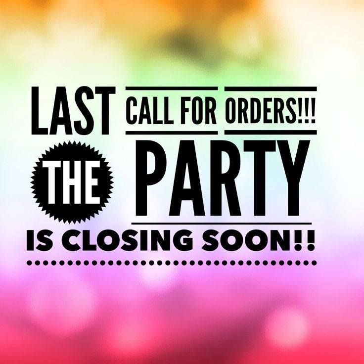 Last call for orders Thirty-one