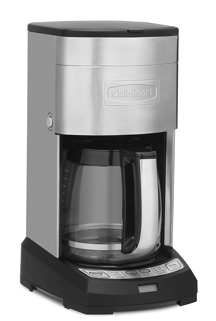 Amazon.com: Cuisinart DCC-3650 Elite 12-Cup Coffeemaker ...