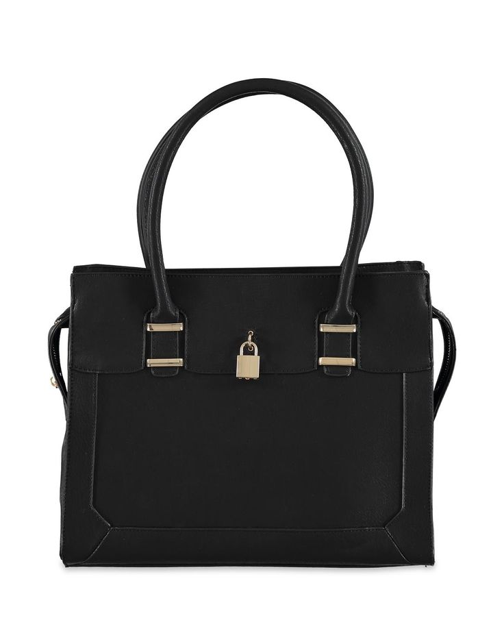 Lock Trim Tote Bag