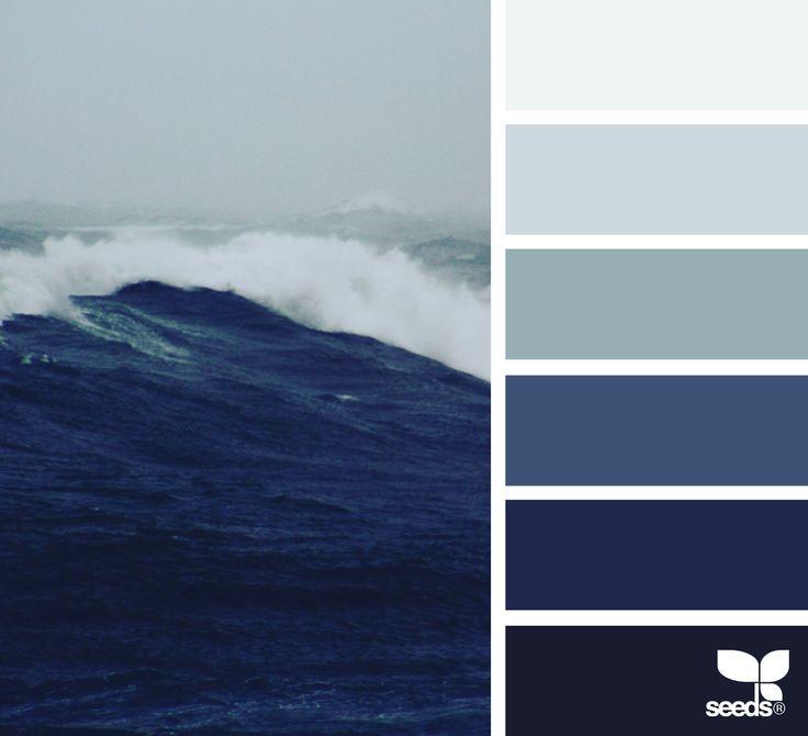 { color storm } image via: @thebungalow22 #color   moody blue