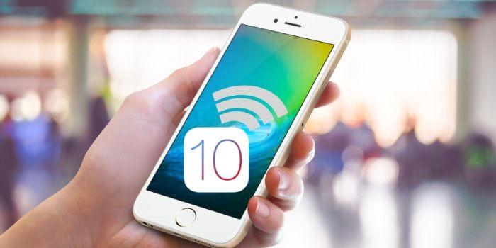 En iOS 10 si te conectas a una Wi-Fi no segura y abierta te avisa http://iphonedigital.com/ios-10-aviso-conexion-wifi-no-segura/ #apple