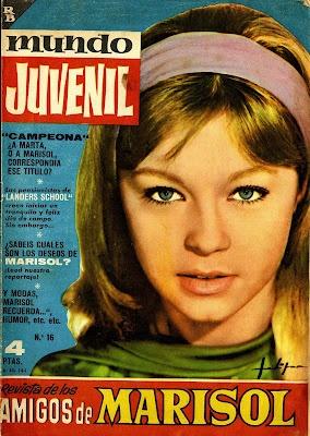 La revista de los amigos de Marisol (años 60)