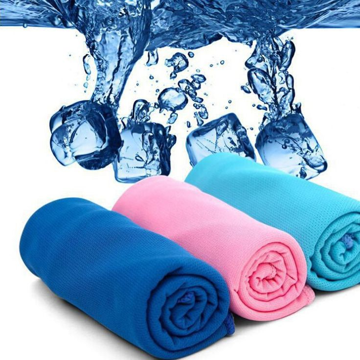 90*38cm Cold PVA microfiber Hypothermia Towels Exercise Sweat Summer Sports Beach Ice Cooling Towel toallas Against the Heat