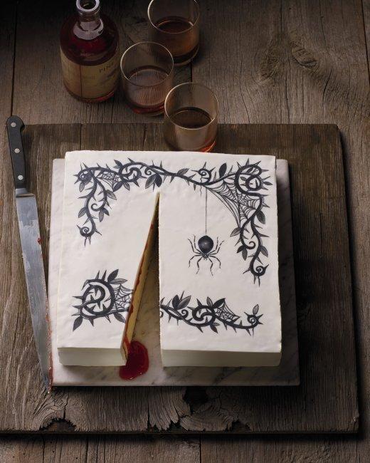Halloween Tattoo Cake Recipe