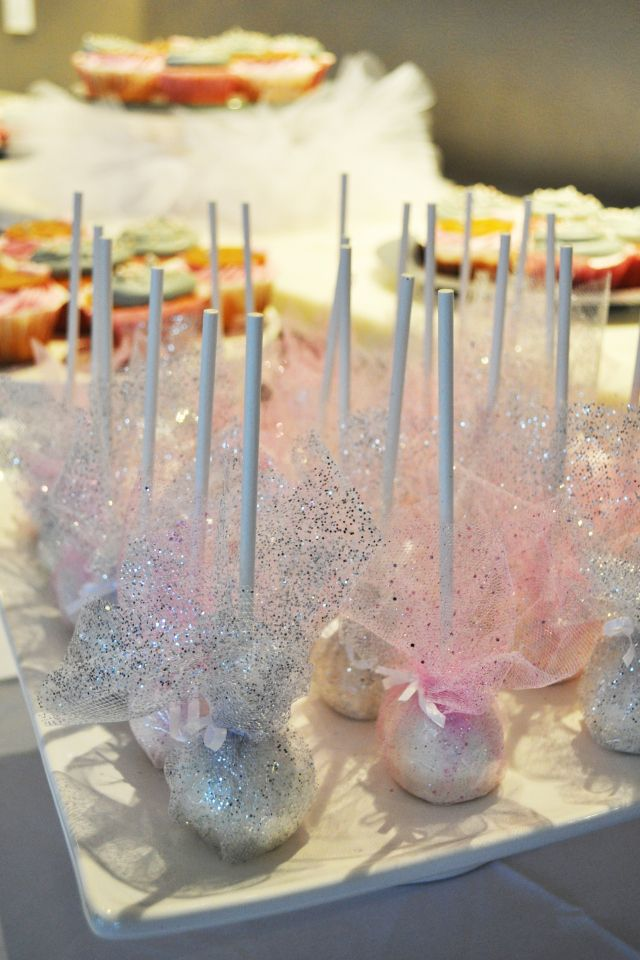 Ballerina in Paris - Cake Pops