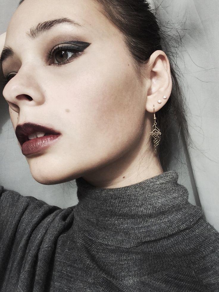#jewelry #beautiful #fashion #accessories #ювелирное #earrings #украшение #мода #красота #стиль #style #design #art #дизайн #face #makeup