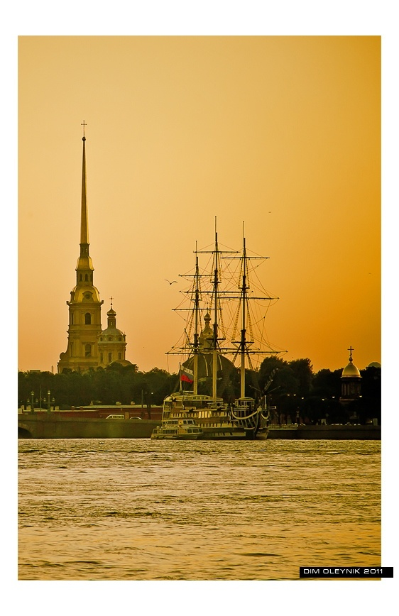 Peter and Paul Fortress. (Russian: Петропа́вловская кре́пость, Petropavlovskaya Krepost) is the original citadel of St. Petersburg, Russia, founded by Peter the Great in 1703 and built to Domenico Trezzini's designs from 1706-1740.