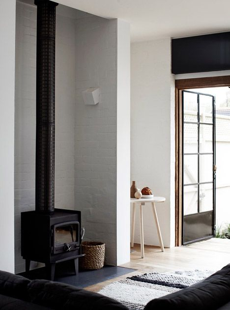 Kerferd Place by Whiting Architects  Nectre 15 Australian made wood fired heater