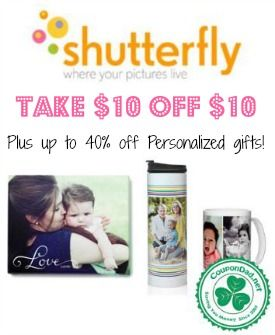 Get a one of a kind personalized gift for Mom and save big! http://www.coupondad.net/shutterfly-promo-code/