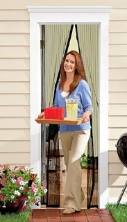 Magic Mesh™ Screen Door Available At Harriet Carter. Magic Mesh™ Instant Screen  Door Lets Fresh Air In; Keeps Bugs Out! Browse Our Other Outdoor Living ...