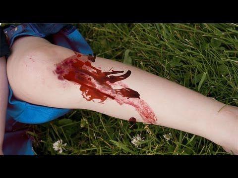 Cómo detener una hemorragia, primeros auxilios para niños - YouTube