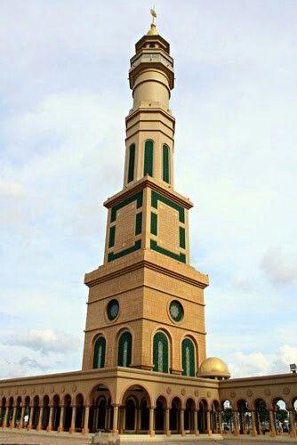 salah satu menara islamic