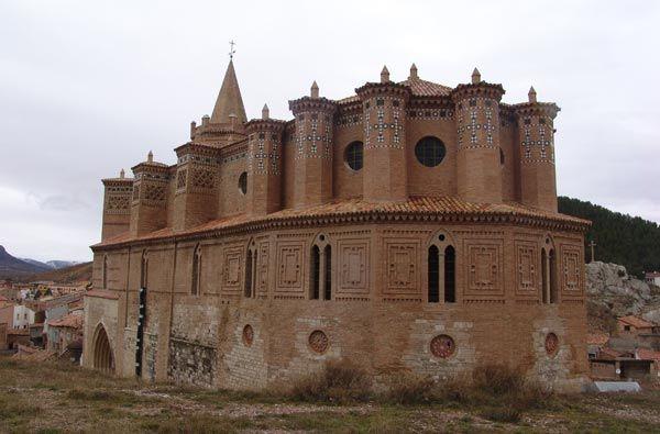 Iglesia Mudejar del apóstol Santiago de Montalbán - Teruel (Aragón)