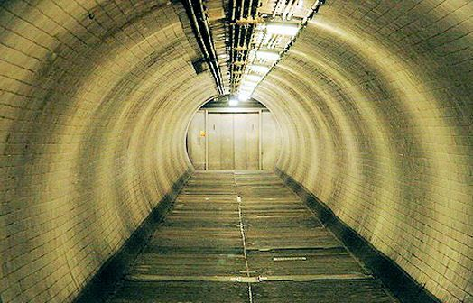 Greenwich Foot Tunnel - a tip o the top hat to epic Victorian Engineering on a daft scale