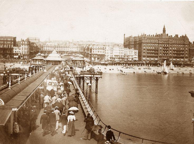 Brighton West Pier in the 1890s.