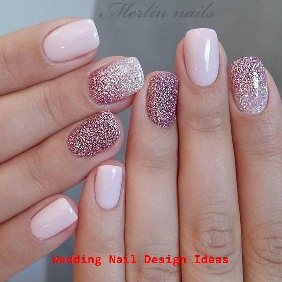 Glitter Gel Nail Designs für kurze Nägel für den…