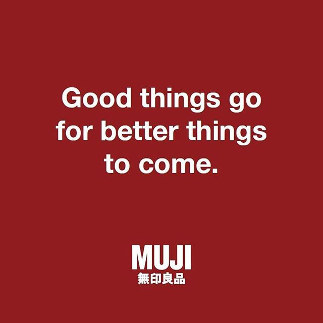Important Announcement Our Current Muji Atrium Location Will Be Closing From Monday October 29 In Preparation For The Expansion And Re Opening Of The Store I