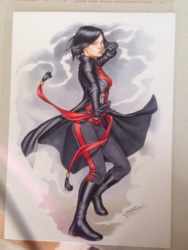 Lady Shiva by Sam Basri