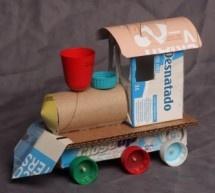 Como fazer brinquedos reciclados passo a passo