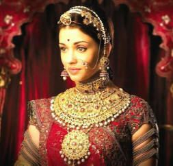design of Indian bridal jewelry