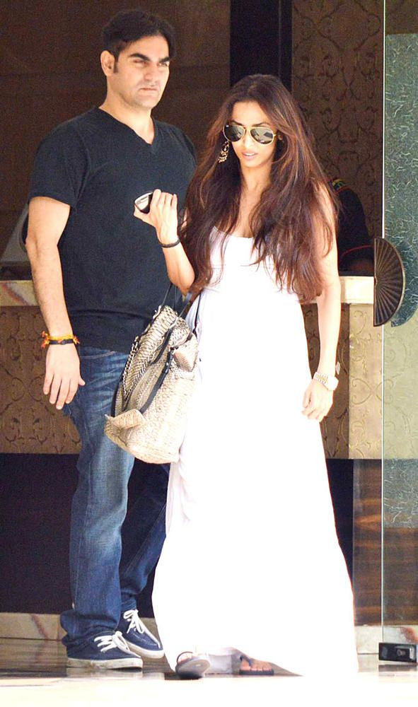 Arbaaz Khan and Malaika Arora Khan #Bollywood #Style #Fashion