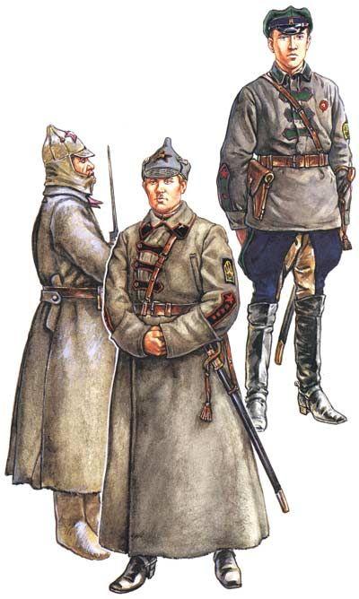Soviet Red Army- Russian Civil War