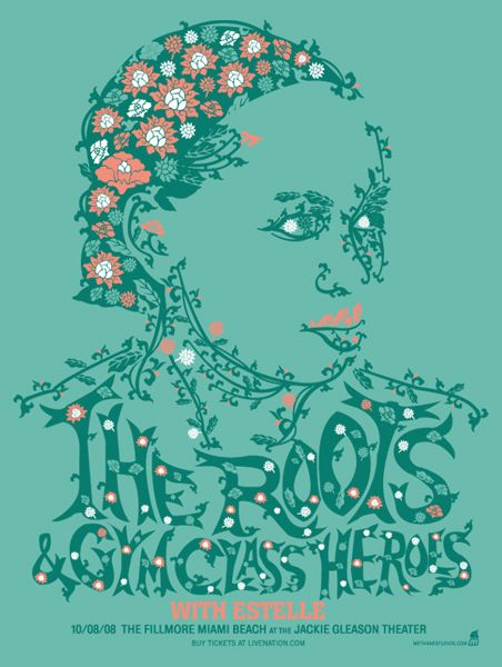 GigPosters.com - Roots, The - Gym Class Heroes