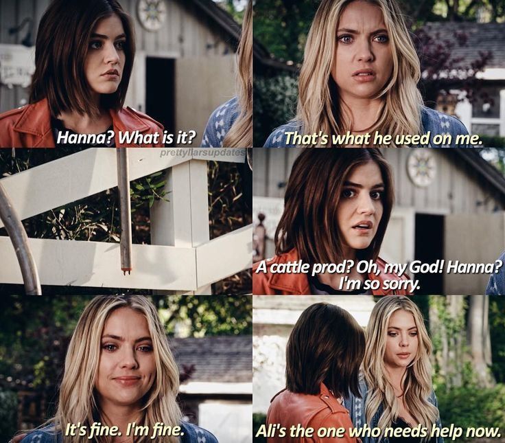 """#PLL 7x03 """"The Talented Mr. Rollins"""" - Aria and Hanna"""