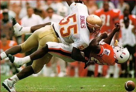 FSU vs MIami 1992