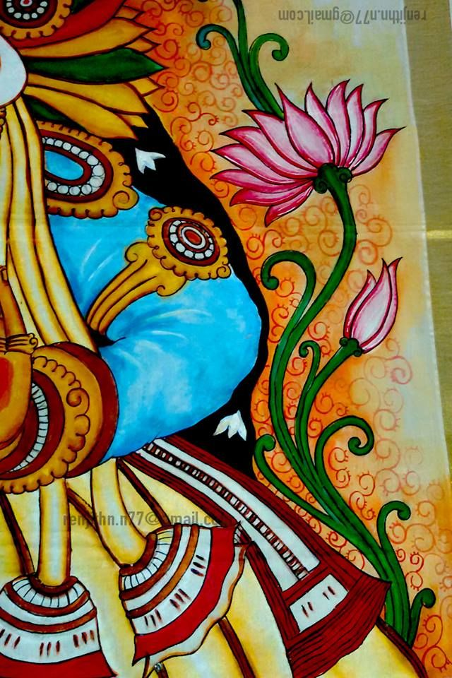 1114 best kerala mural paintings images on pinterest for Mural painting designs