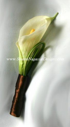 calla lily corsage?