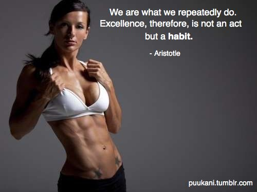 Aristotle: Workout Motivation, Fit Woman, Fit Girls, Favorite Quotes, Fit Inspiration, Be Fit, Fit Motivation, Abs Motivation Quotes, Insanity Workout
