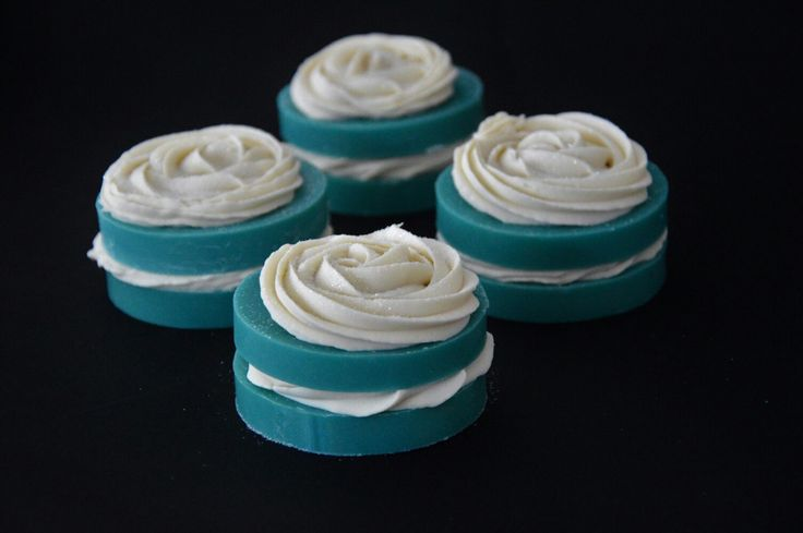 Mystic white and blue soap <3