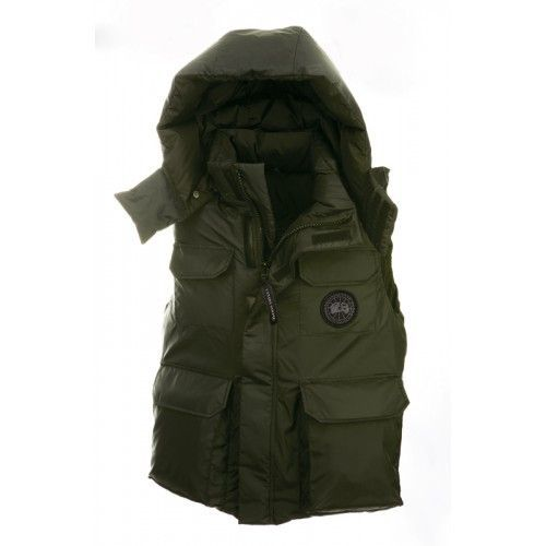 Canada Goose Mens - Buy Canada Goose Mens Alberta Vest Green Down Jacket Sale