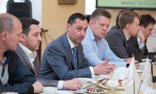 Виктор Тепляков встретился с активом Центрального микрорайона города Сочи