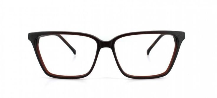 SHARP I A feminine take on a classic masculine look. Sharply angled sides create an illusion of higher cheekbones. Acetate is cut thin to keep a light and elegant appearance.  Brown gradient acetate.
