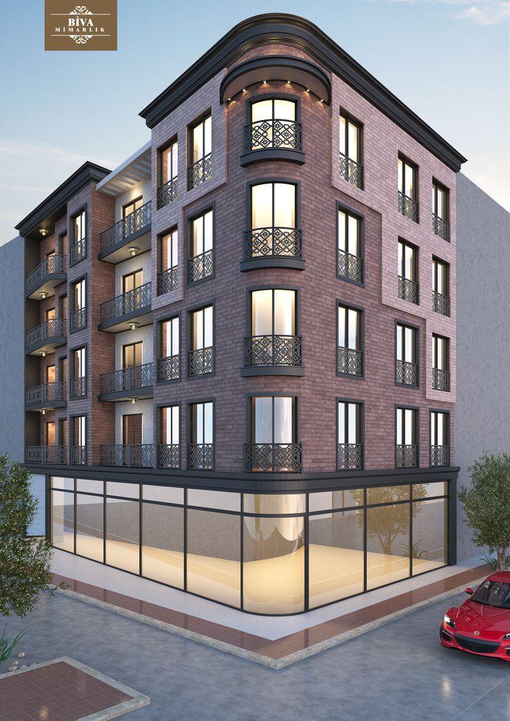Building design architecture urban buildings for Design apartment in prague 6