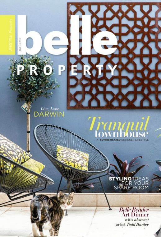 Belle Property Issue 15, 2015. Front Cover property sold through Belle Property Surry Hills office.