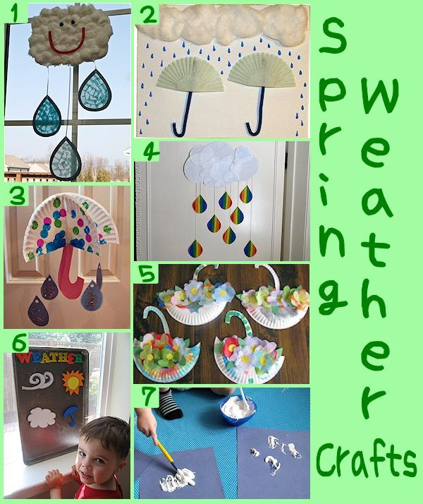 Spring Weather Crafts - http://aboutfamilycrafts.com/spring-weather-crafts-for-kids/
