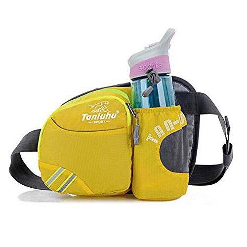New Trending Bumbags: Unisex Waterproof Waist Bag Bumbag Colorful Chest Bag Casual bag with Water Bottle Holder - Yellow. Unisex Waterproof Waist Bag Bumbag Colorful Chest Bag Casual bag with Water Bottle Holder – Yellow   Special Offer: $15.99      399 Reviews Specification: Size: 27*19*8 cm; Weight: 0.16kg; Color: yellow, red, green, dark blue, black, purple, rose red, orange, light blue; ...