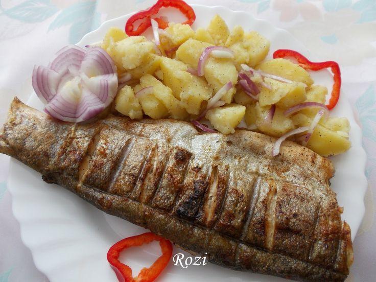 Grillezett hal