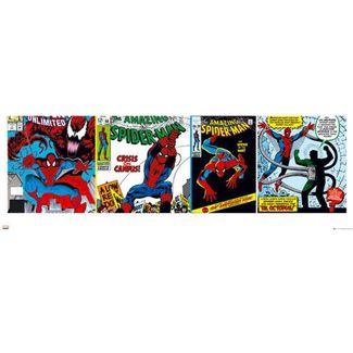 Superhero Art- Spiderman Panoramic