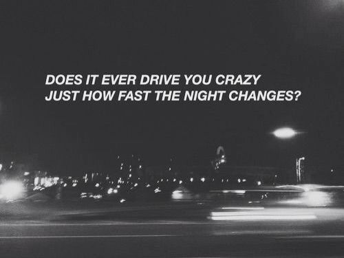 Night Changes- One Direction